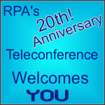20th Anniversary Annual Teleconference